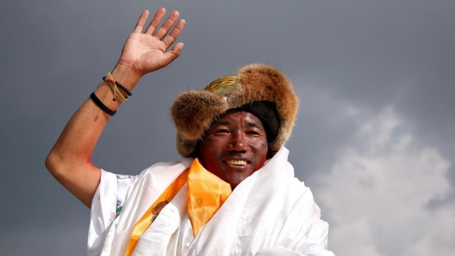 Kami Rita Sherpa climbs Mt Everest for 24th time, creates record again