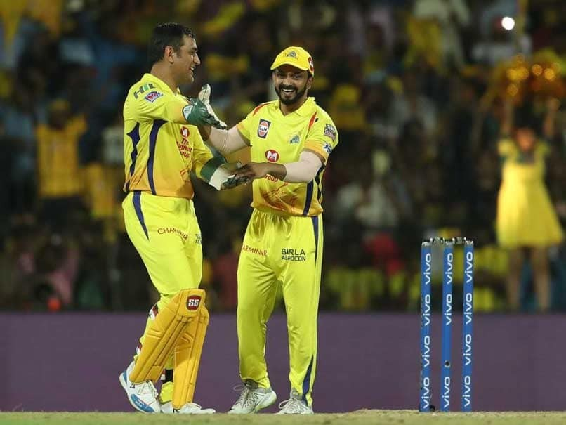 IPL 2019: Chennai Super Kings' landing in final