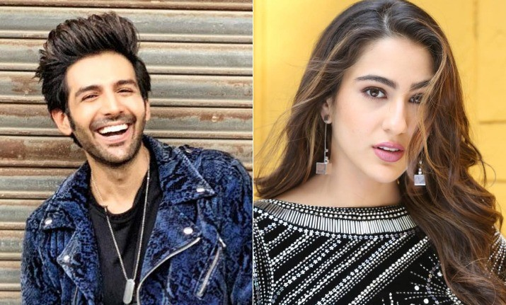 Sara Ali Khan, Kartik Aaryan share romantic first look pic, release date for Love Aaj Kal 2