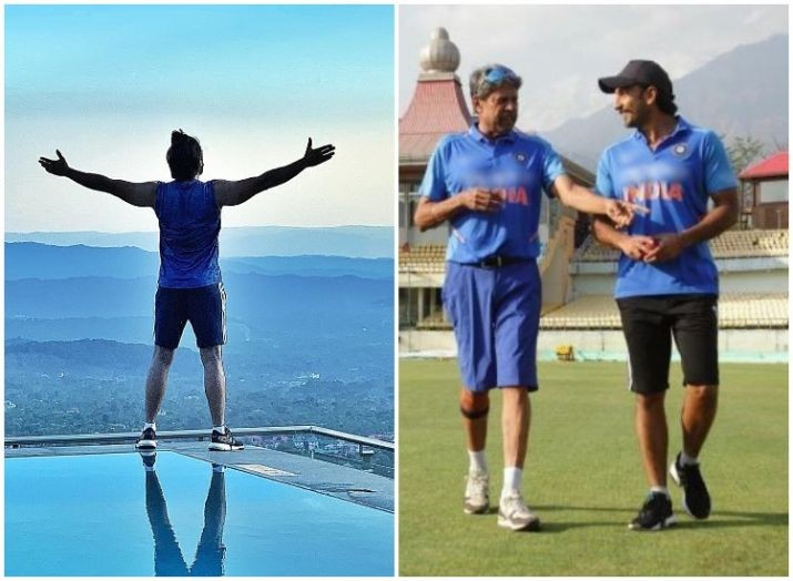 Ranveer Singh is at 'top of the world' as he shoots for 83 in Himachal Pradesh
