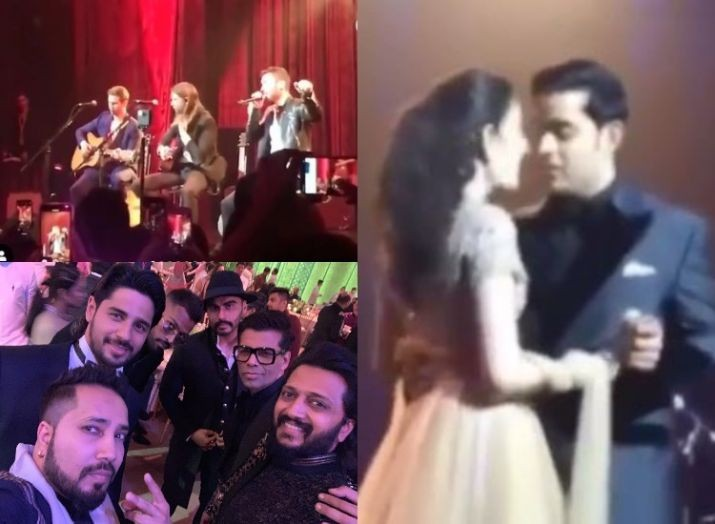 Akash Ambani-Shloka Mehta's romantic dance to Maroon 5's performance, the post wedding bash