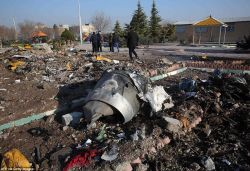 Iran admits it 'unintentionally' shot down Ukrainian plane carrying 176 people