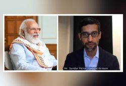 Spoke to Google CEO Pichai on new work culture amid COVID-19: PM Modi