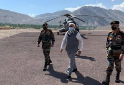 We feel safe with you: Kirron after PM Modi's visit to Ladakh