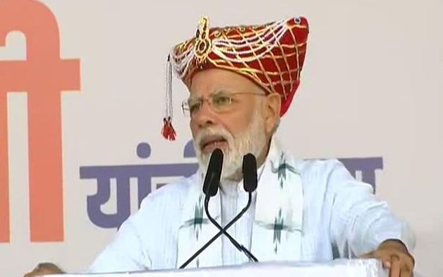 PM Modi Address Rally in Maharashtra, urge to make Kashmir Paradise again