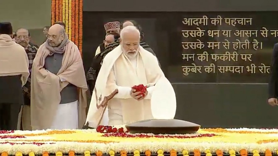 President Kovind, PM Modi pay tributes to Vajpayee on his 95th birth anniversary