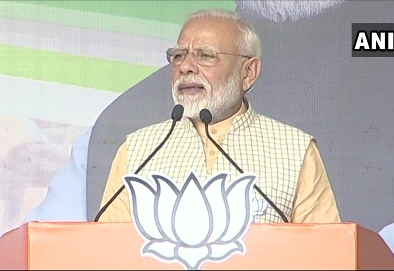 Ayodhya issue, which Cong dragged, has been peacefully resolved: PM Modi