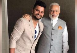 That's a brilliant 50: PM Modi after Raina donates ₹52 lakh to relief funds