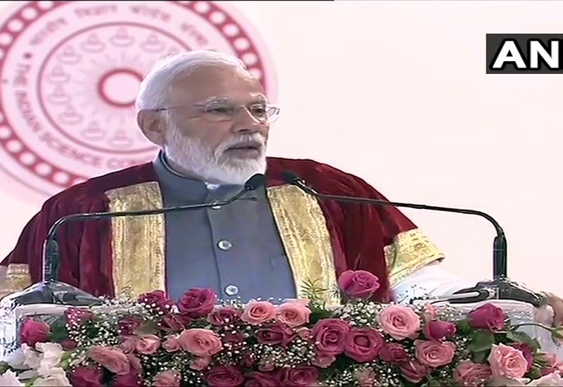 My motto for young scientists is 'innovate, patent, produce, prosper': PM