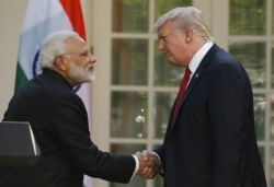 Highly gratified by cooperation from great friend India on Iran: US