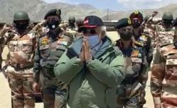 Jawans chant 'Vande Mataram' as PM visits Ladakh post; video surfaces