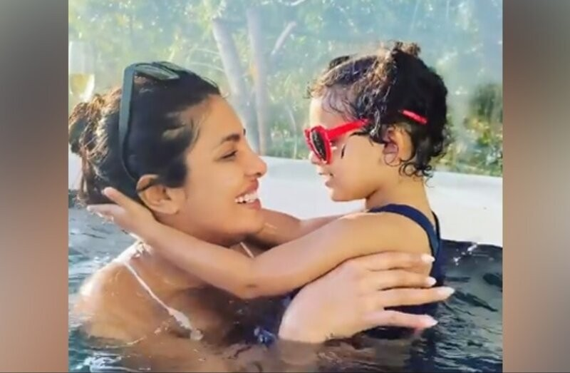 Priyanka Chopra Makes A Splash On Instagram With Niece Krishna: 'We're So Cute'