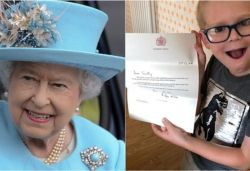7-yr-old UK boy sends puzzle to Queen to 'cheer her up', she thanks him