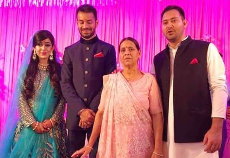 Rabri Devi pulled my hair, snatched my Phone, threw me out of house: Tej Pratap's wife
