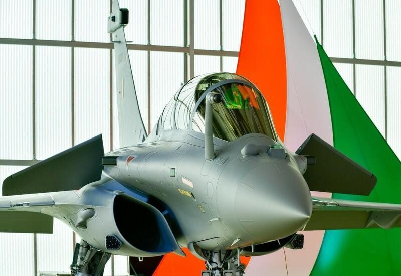 Rajnath Singh officially receives first of 36 Rafale aircraft in France