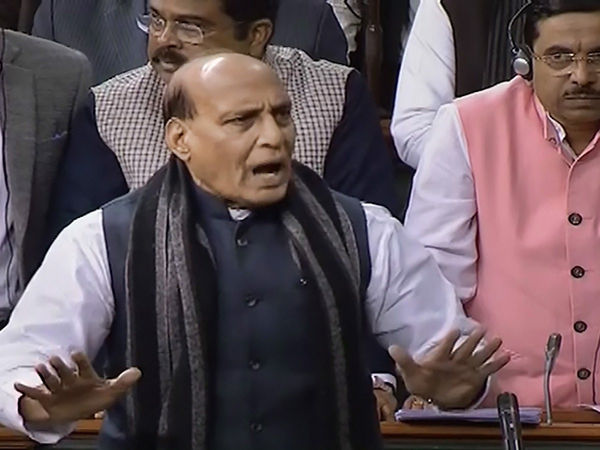 Shouldn't be House member: Rajnath over Rahul's rape remark