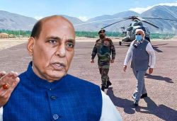 PM Modi's surprise visit to Ladakh boosted soldiers' morale: Rajnath