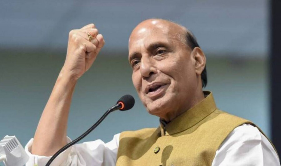 I thank the people for once again giving a decisive mandate: Rajnath
