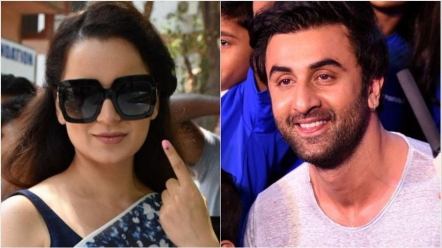 Kangana Ranaut took a dig at Ranbir Kapoor for staying apolitical, here's how he has reacted