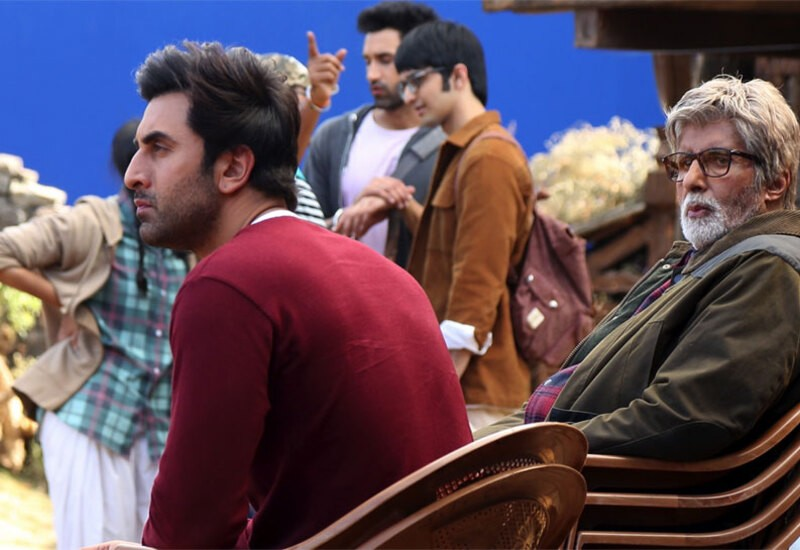 Need 4 chairs to keep up with Ranbir's enormous talent: Big B