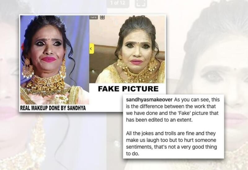 Viral pic of Ranu Mondal Ridiculous Makeup was Fake, Makeup Artist Shares Real Photos of Mondal's Makeover