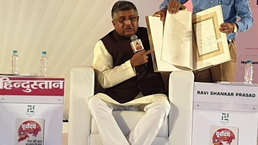 Ravi Shankar Prasad says PM Modi fulfilled Sardar Patel's wish on Article 370