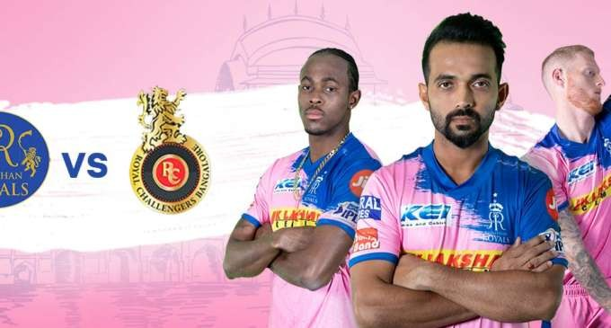 IPL 2019 : RCB, Rajasthan Clash For Their Maiden Win Tuesday, 2 April at 8pm
