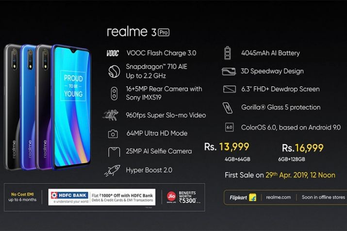 Realme 3 Pro and Realme C2 launched in India