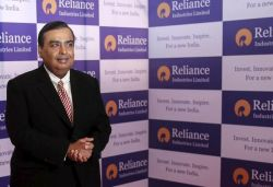Reliance Industries becomes 1st Indian firm to hit ₹12 lakh crore market cap