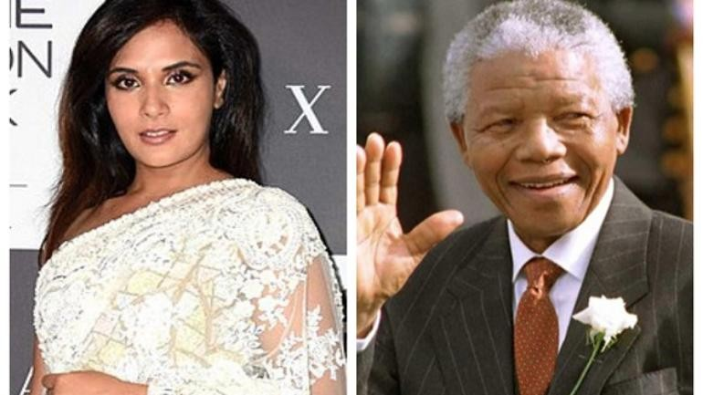 Richa Chadha pays tribute to late Nelson Mandela by a handwritten note