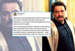 Let liquor shops be open, doctors need release: Rishi Kapoor