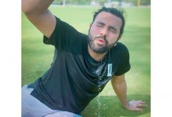 Rohit Sharma resumes outdoor training after long break, shares pic