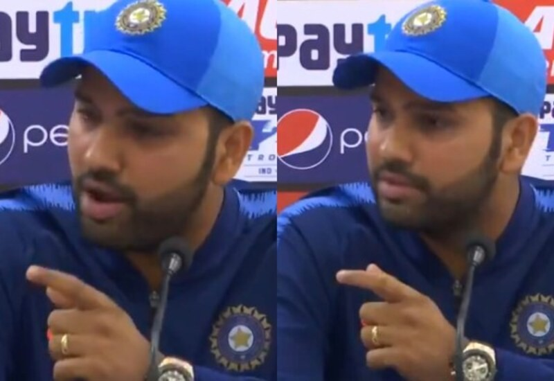 I am not done yet: Rohit to journalist interrupting him in press conference
