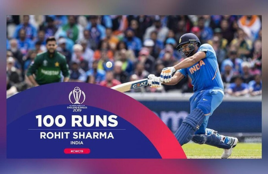 Rahul-Sharma 4th pair to score a century stand vs Pak in WCs