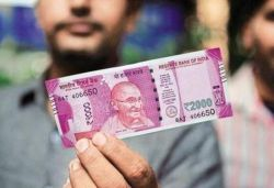 No proposal to stop circulation of ₹2,000 currency notes: Government