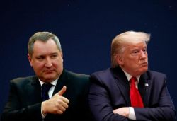We surrender: Russian space agency chief mocks Trump over 'super duper missile'