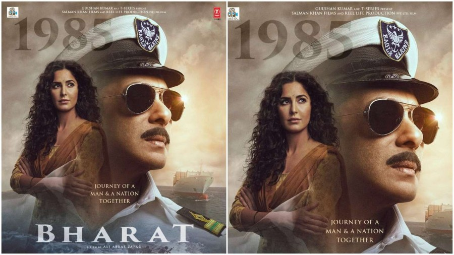 Salman Khan Dressed as Indian Navy Officer in New 'Bharat' Poster