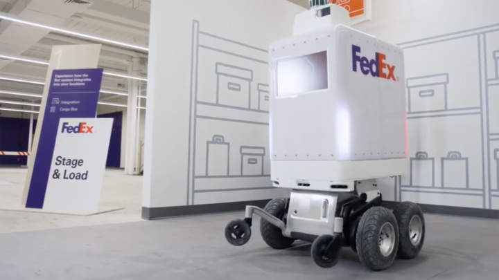 FedEx ties up with Pizza Hut, Walmart to test 'SameDay' local delivery robot that navigate street