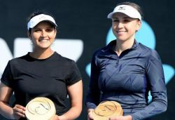 Title town after more than 2 yrs: Sania after winning Hobart International