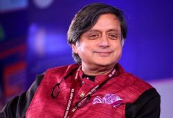 Warrant issued against Tharoor for 'Scorpion on Shivling' remark