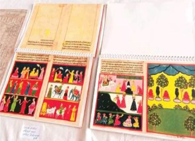 1,300-year-old Jain scriptures on display in Jaipur