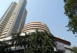 Sensex surges more than 500 points, Nifty above 12,100