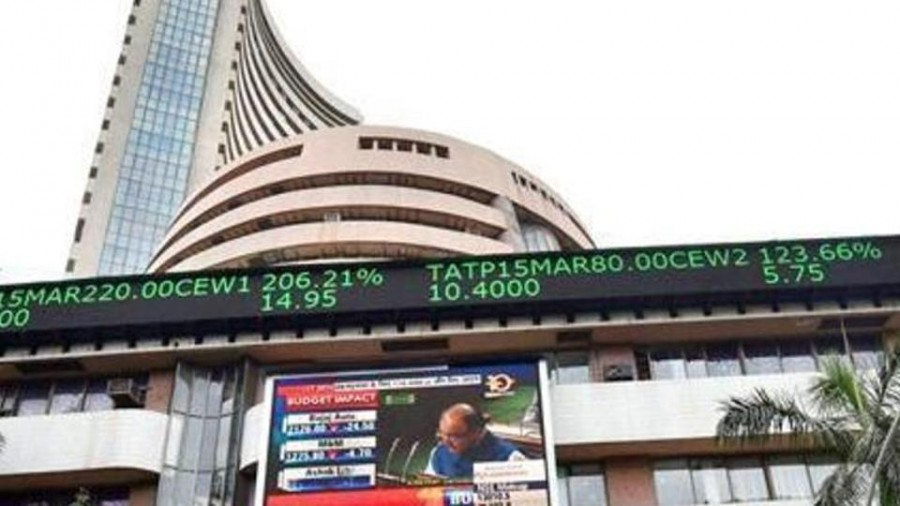 Sensex soars over 350 points, Nifty near 11,800