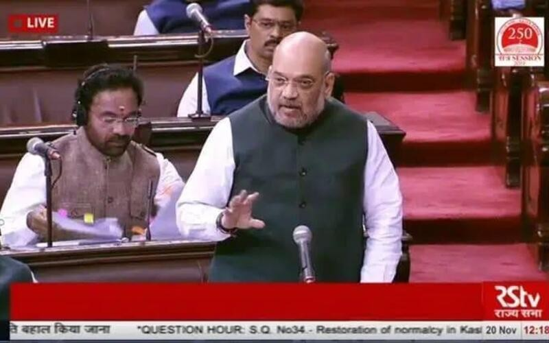 People predicted bloodshed but no one died in J&K police firing: Shah
