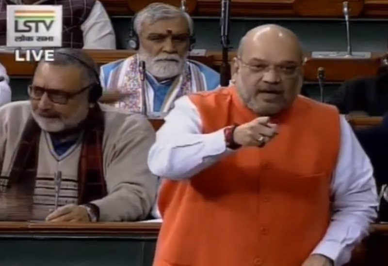 'Not even .001% against minorities': Amit Shah on Citizenship Bill