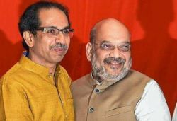 Where was Amit Shah when Delhi was burning, asks Shiv Sena