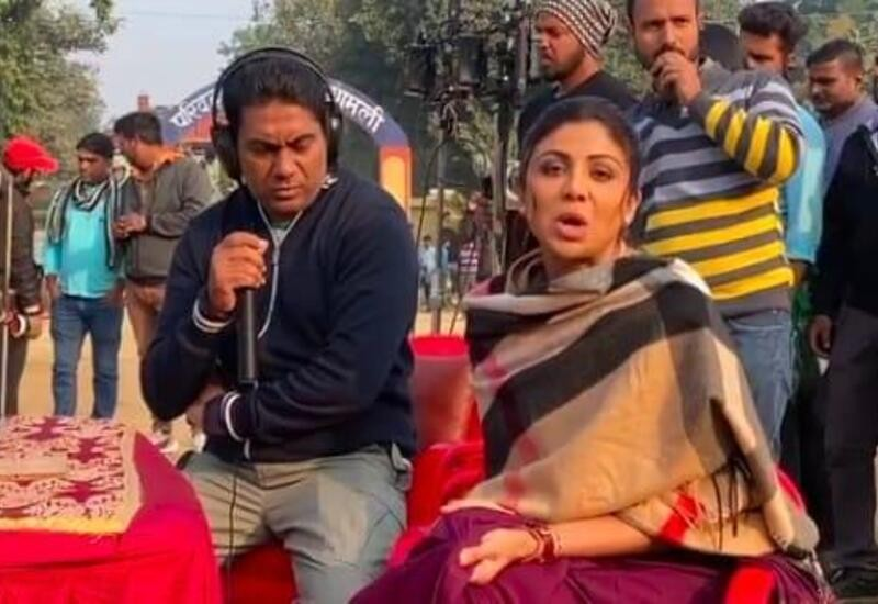 Cotton saree in 15°C: Shilpa trolls director over her cotton saree in winter