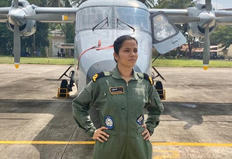 Dreamt of becoming a pilot since I was 10: Navy's 1st woman pilot