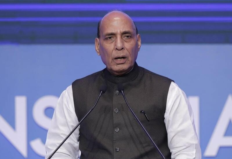 Pak will 'break into pieces' if it promotes terrorism: Rajnath