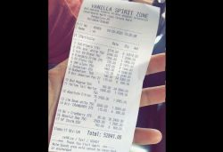 Liquor bill of ₹52,841 from Bengaluru goes viral, case filed against seller